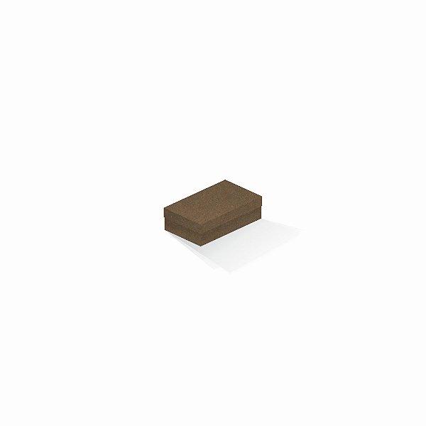 Caixa de presente | Retângulo F Card Scuro Marrom 6,0x10,0x3,5