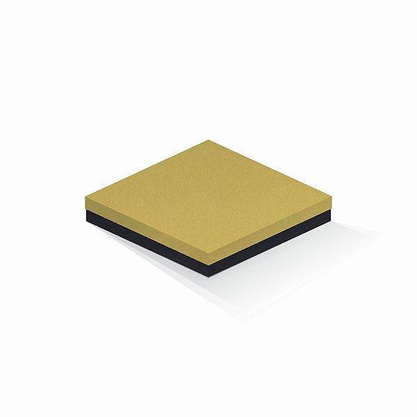 Caixa de presente | Quadrada F Card Ouro-Preto 20,5x20,5x4,0