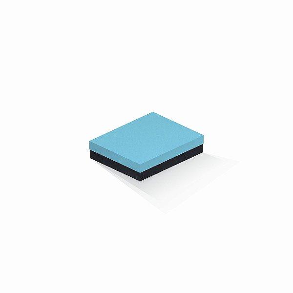 Caixa de presente | Retângulo F Card Azul-Preto 12,0x15,0x4,0