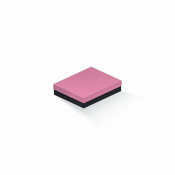 Caixa de presente | Retângulo F Card Rosa-Preto 12,0x15,0x4,0