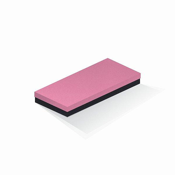 Caixa de presente   Retângulo F Card Rosa-Preto 13,0x29,0x4,0