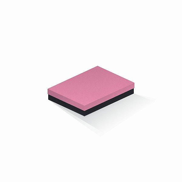 Caixa de presente | Retângulo F Card Rosa-Preto 14,0x19,0x4,0