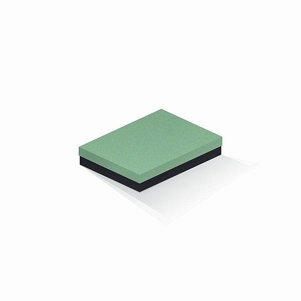 Caixa de presente   Retângulo F Card Verde-Preto 14,0x19,0x4,0