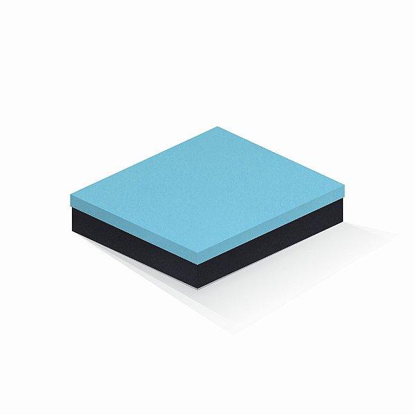 Caixa de presente | Retângulo F Card Azul-Preto 21,7x27,7x5,0