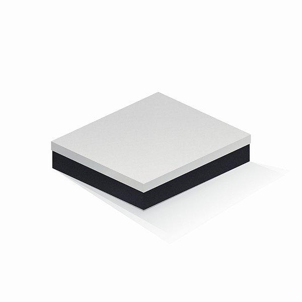 Caixa de presente | Retângulo F Card Branco-Preto 21,7x27,7x5,0