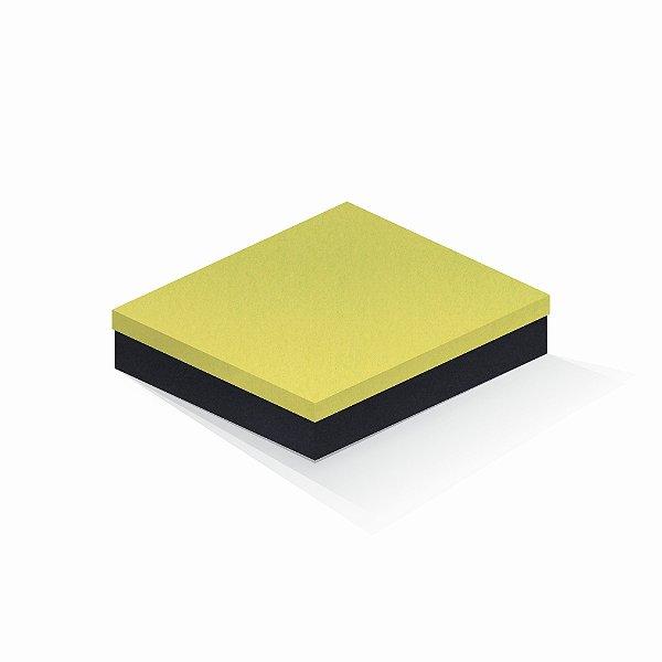 Caixa de presente | Retângulo F Card Canário-Preto 21,7x27,7x5,0