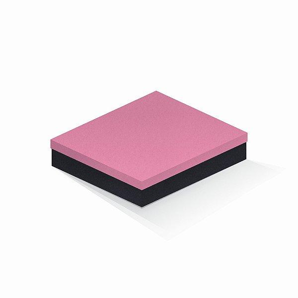 Caixa de presente | Retângulo F Card Rosa-Preto 21,7x27,7x5,0