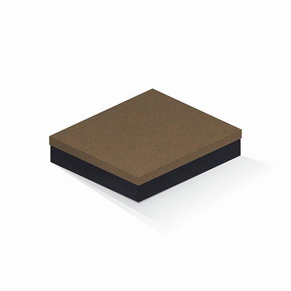 Caixa de presente | Retângulo F Card Scuro Marrom-Preto 21,5x27,5x5,0
