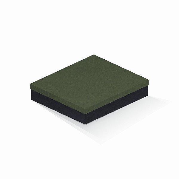 Caixa de presente | Retângulo F Card Scuro Verde-Preto 21,7x27,7x5,0