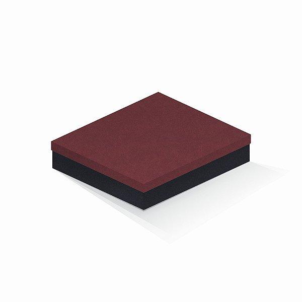 Caixa de presente | Retângulo F Card Scuro Vermelho-Preto 21,7x27,7x5,0