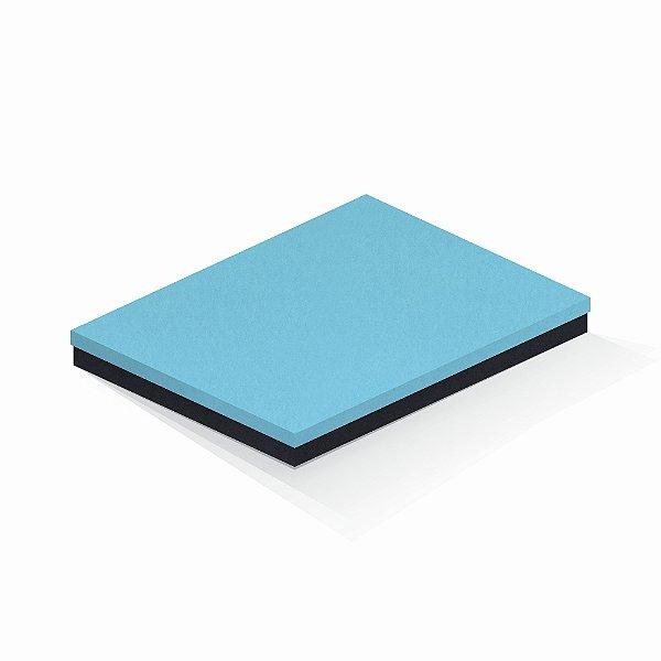Caixa de presente | Retângulo F Card Azul-Preto 23,5x31,0x3,5