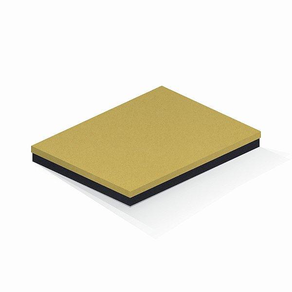 Caixa de presente | Retângulo F Card Ouro-Preto 23,5x31,0x3,5