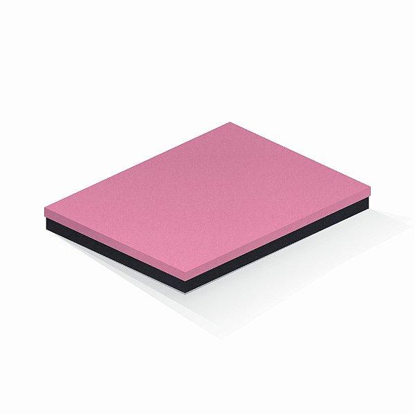 Caixa de presente | Retângulo F Card Rosa-Preto 23,5x31,5x3,5