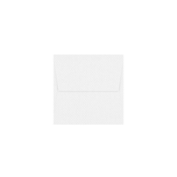 Envelope para convite | Quadrado Aba Reta Markatto Concetto Bianco 10,0x10,0