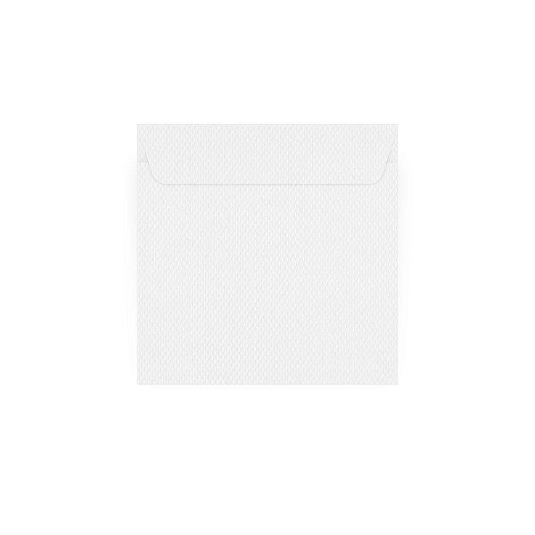 Envelope para convite | Quadrado Aba Reta Markatto Concetto Bianco 24,0x24,0