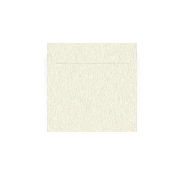 Envelope para convite | Quadrado Aba Reta Markatto Stile Avorio 24,0x24,0