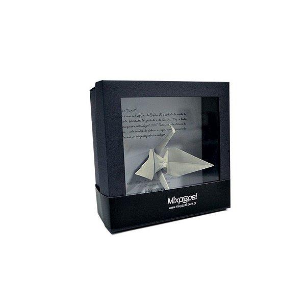 Kit Origami - Tsuru - Color Plus Marfim 15x15