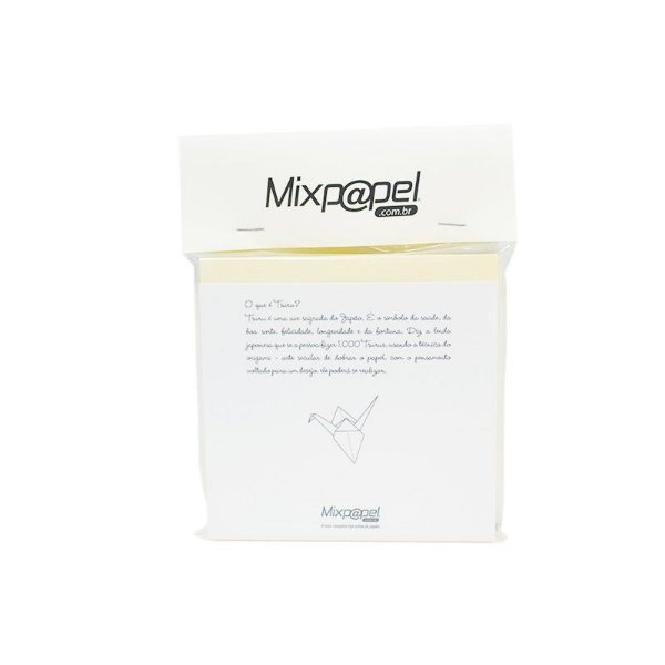 Refil Origami - Tsuru - Color Plus Marfim 10x10