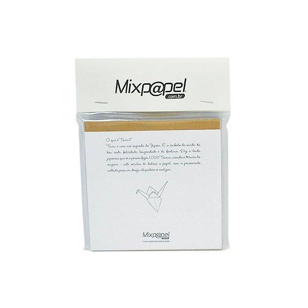 Refil Origami - Tsuru - Color Plus Havana 15x15
