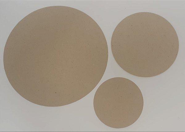 Disco Papelão N20 1,7 mm - Kit Fundo | Tampa
