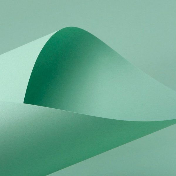 Lote Q1-013 - F Card Verde - 180g - 125fls