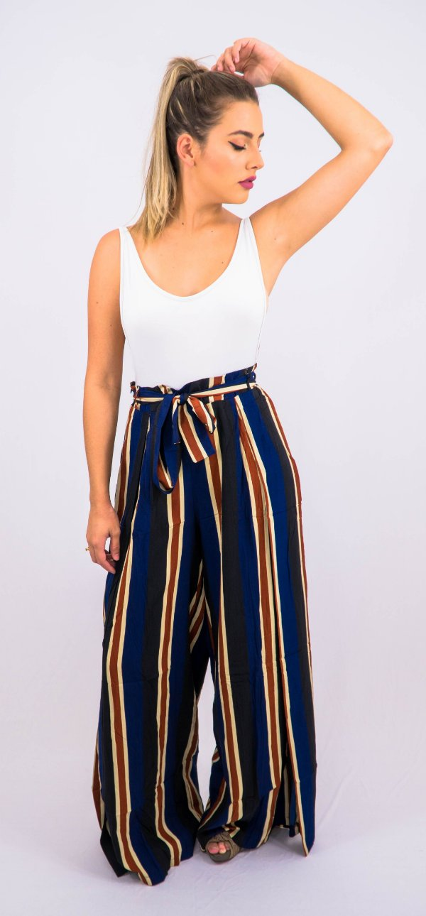 Pantalona com Lateral Aberta - G