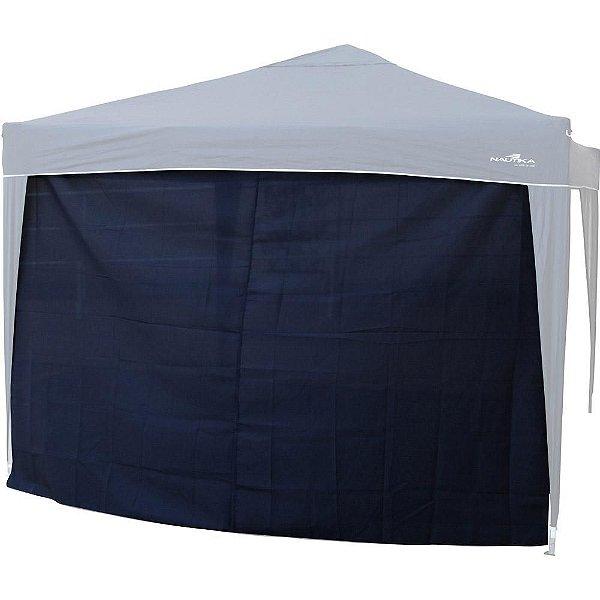 Parede para Gazebo Nautika TRixx Azul com Sobreteto 100% Poliéster Oxford com Fixadores de Velcro - 3,0m x 1,85m