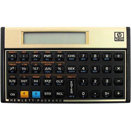 Calculadora Financeira Hp 12c Gold - Visor em LCD