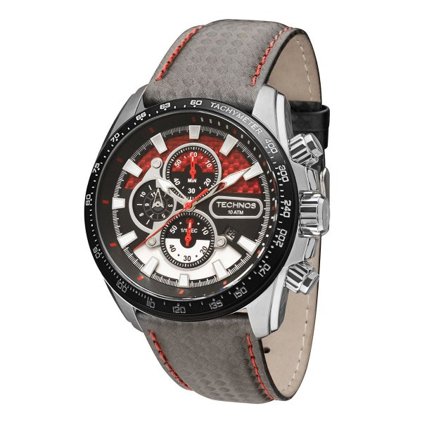 8b9e31e6e93bf Relógio Masculino Technos Carbon OS1AAZ0R - 51mm - Shopping Ezun ...