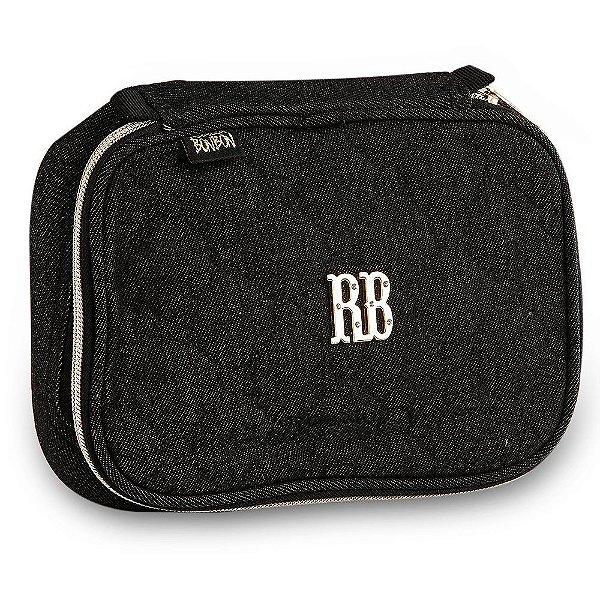 Estojo Rebecca Bonbon RB Jeans Preto RB9268