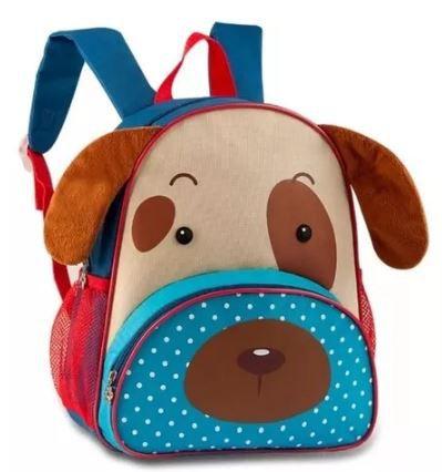 Mochila Infantil Clio Pets - Cachorro 2.0