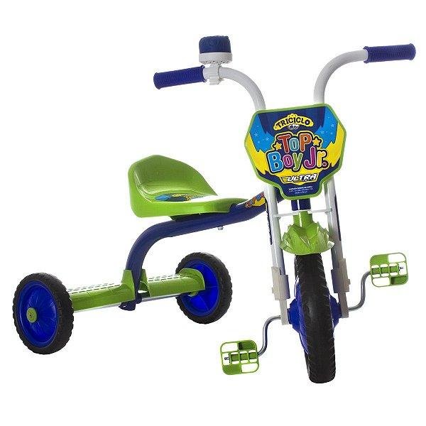 Triciclo Top Boy Jr Ultra Bike - Azul e Verde