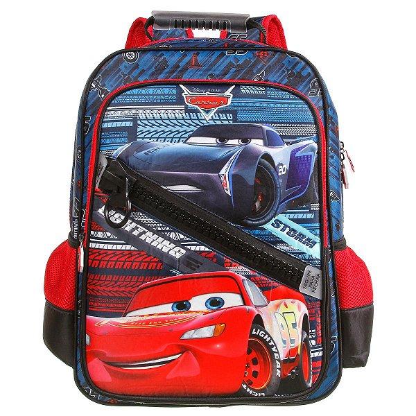 Mochila Escolar Dermiwil Carros Relâmpago Mcqueen 37345