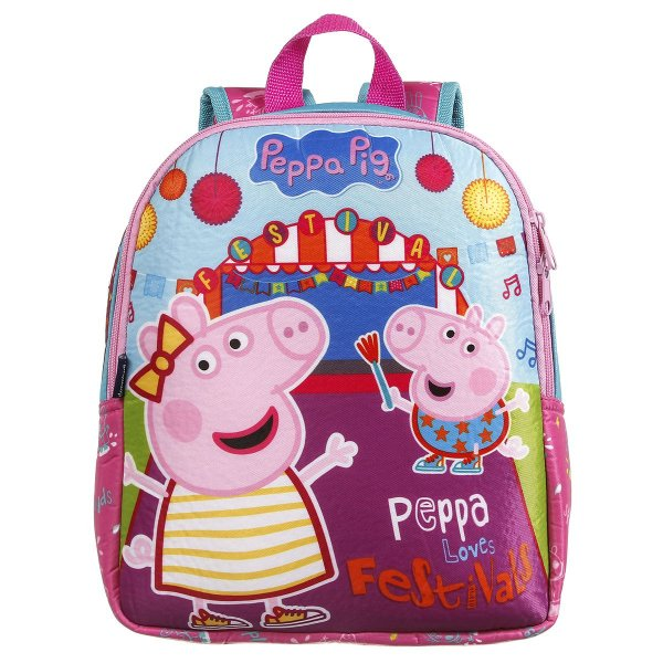 Mochila Infantil Dermiwil Peppa Pig Toque Macio 37302