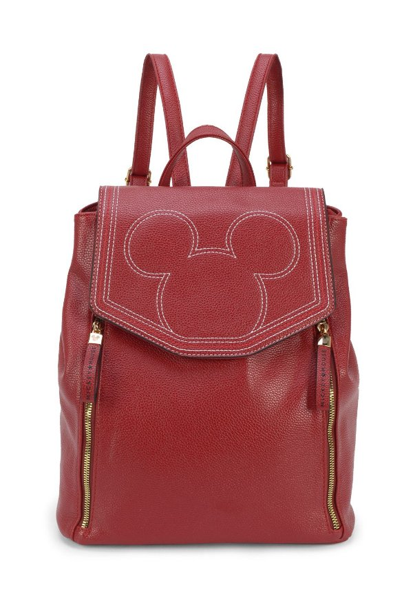 Bolsa Mochila Mickey Mouse BMK78457 Vermelha