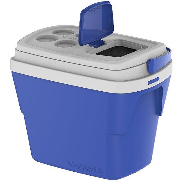 Caixa Térmica Tropica Soprano 28 Litros - Azul