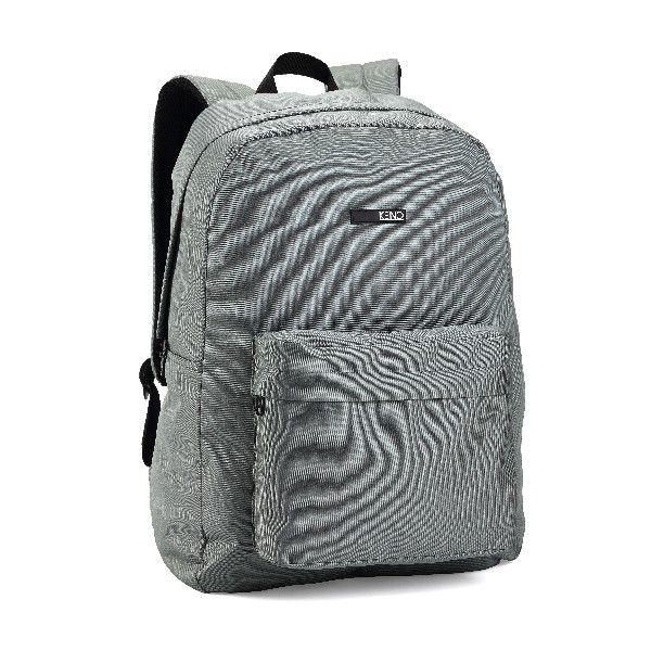 Mochila Notebook Denlex Linha Kend Bolso Frontal KM0753 Cinza
