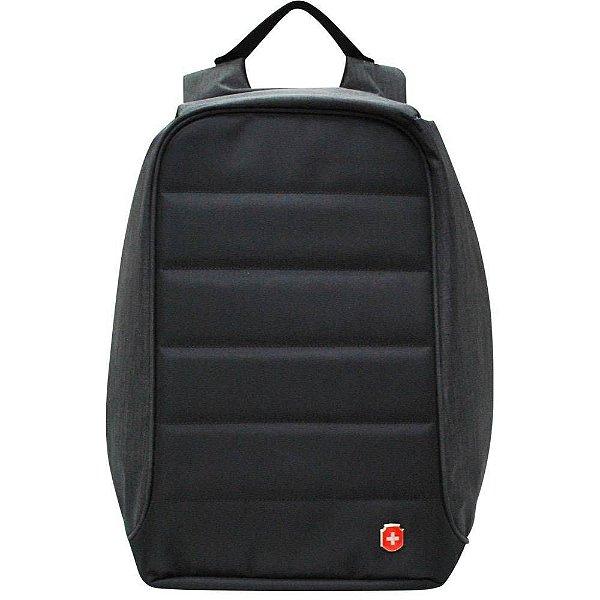 Mochila Anti Furto Para Notebook Swissland - Preto YS28055