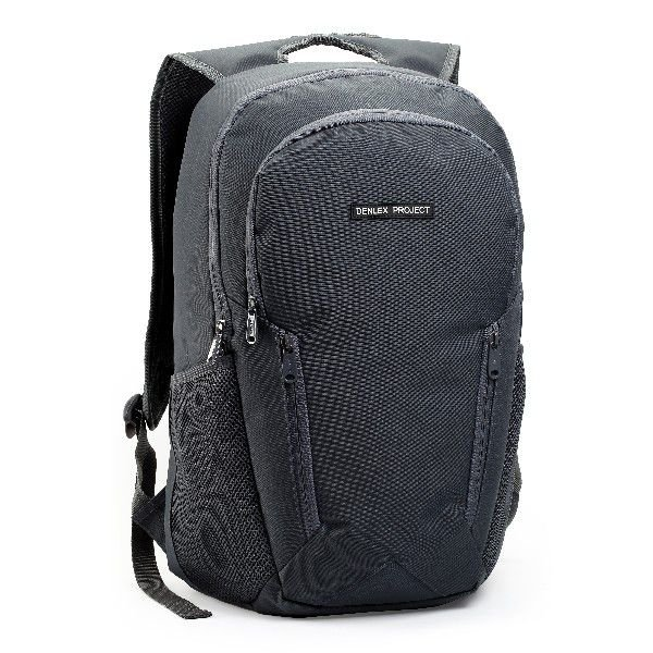 Mochila Notebook Denlex Project Bolso Frontal DL0714 Cinza