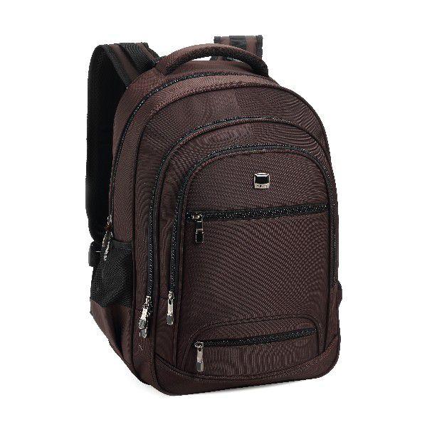 Mochila Notebook Denlex 03 bolsos Frontais  DL0776 Marrom