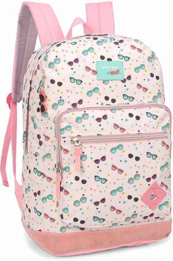 Mochila Juvenil UP4YOU Larissa Manoela MS45737UP - Salmão