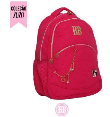 Mochila Escolar Rebecca Bonbon Notebook RB2037 - Rosa