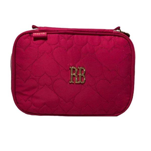 Estojo Escolar Rebecca Bonbon RB2038 - Rosa
