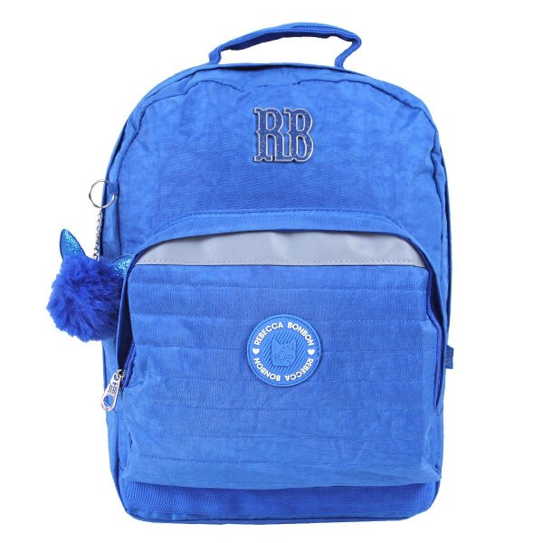 Mochila Escolar Rebecca Bonbon Notebook RB2041 - Azul EAN 7908040420228