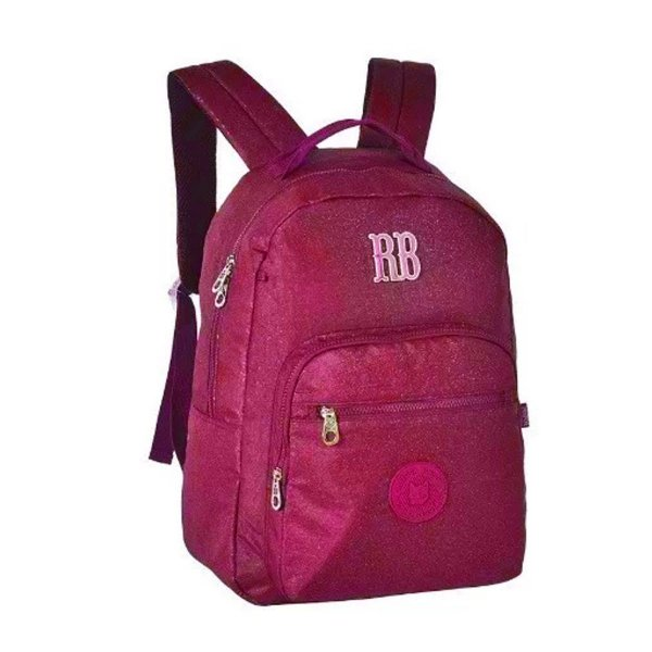 Mochila Escolar Rebecca Bonbon Notebook RB2079 - Rosa EAN 7908040422468
