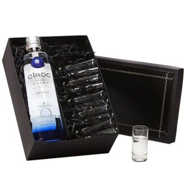 Kit Vodka com Copos