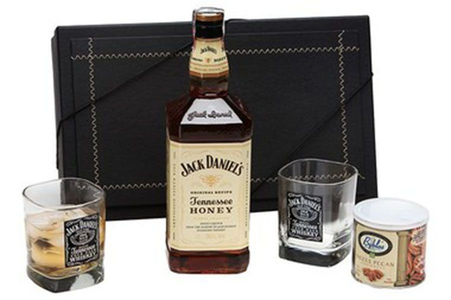 Kit Whisky Jack Daniels Honey Castanhas