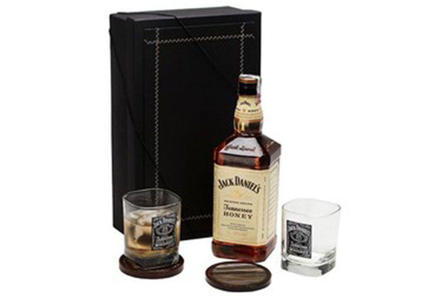Kit Whisky Jack Daniels Honey Copos