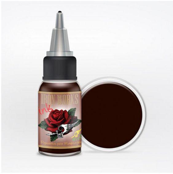 Pigmento Iron Works Marrom Café - 15ml