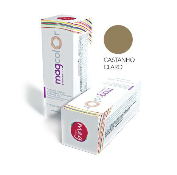 Pigmento Mag color 15ml - Castanho Claro